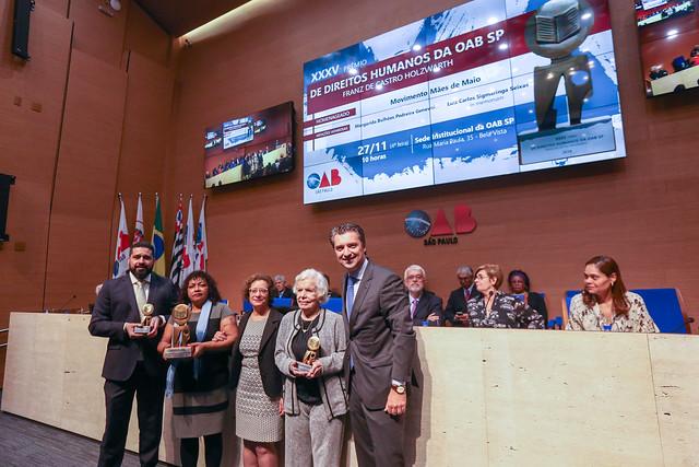 27.11.2019 - XXXV Prêmio de Direitos Humanos Franz de Castro Holzwharth