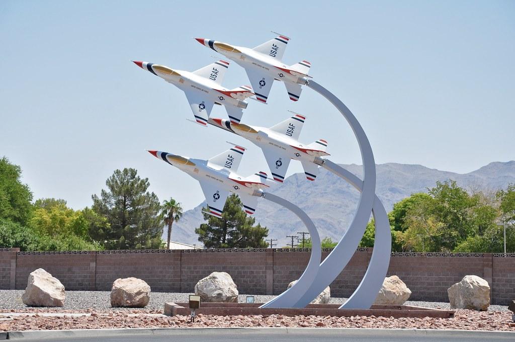 Nellis AFB & The Speedway ~ North Las Vegas