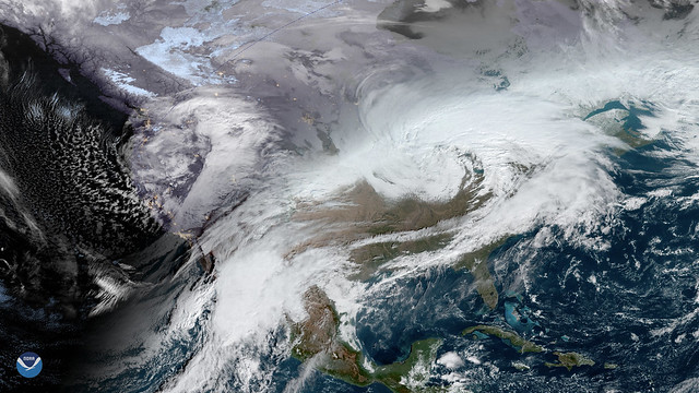 Two Large Winter Storms to Wallop Parts of the U.S.