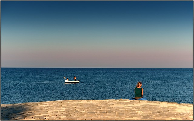 Beautiful solitude on the island of Cyprus