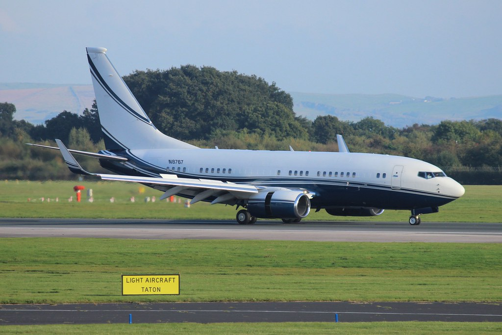 Avjet corporation Boeing 737-7EG (BBJ) N8767 (Re-Upload)