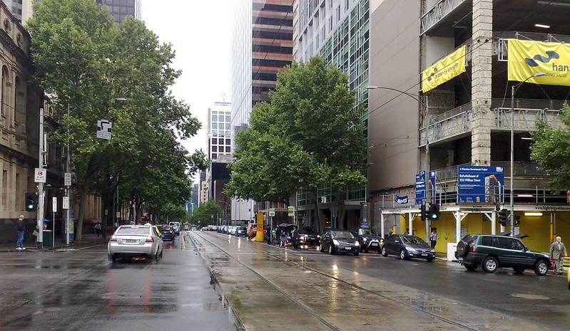 William Street looking south, November 2009