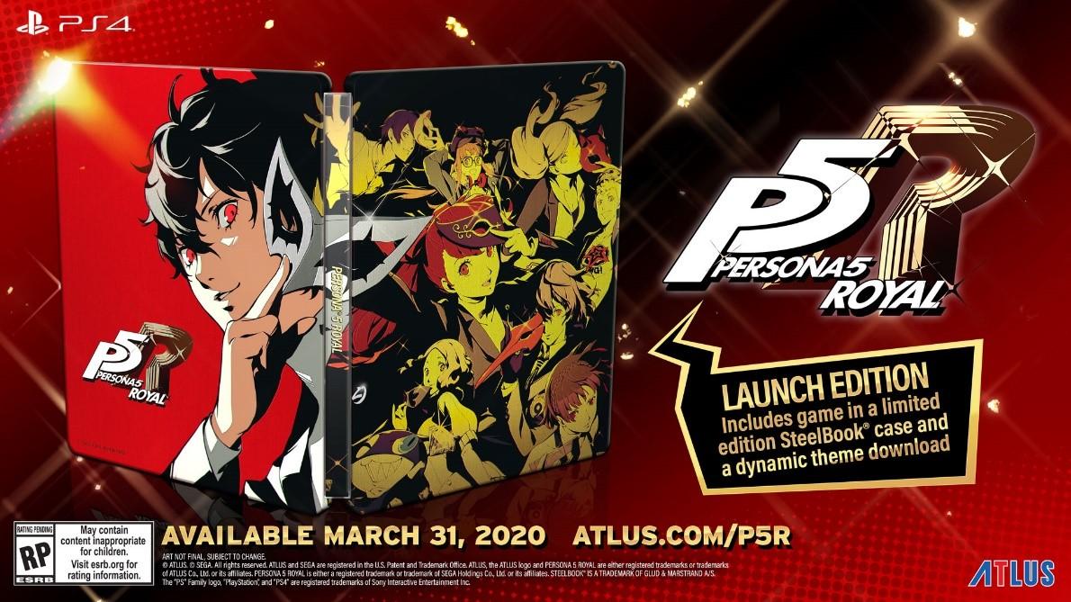 Persona 5 Royal western release date leaks