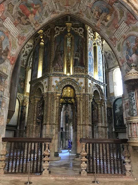 Tomar, Portugal - The Charola (octagon) of the Templars' Church