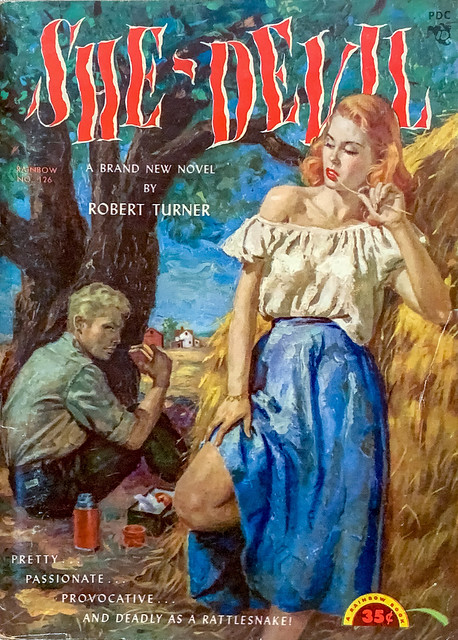 Rainbow Book No. 126 Paperback Original (1952). Digest Size. Cover Art by George Gross