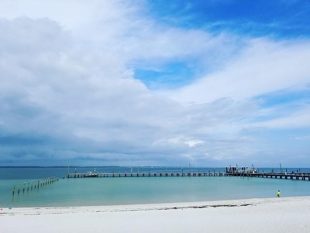 #pensacola #pensacolabeach #quietwater #beach #beachlife #pier #clouds #escambia #escambiacounty #florida #panhandle #floridapanhandle #floridabeaches #gulfofmexico