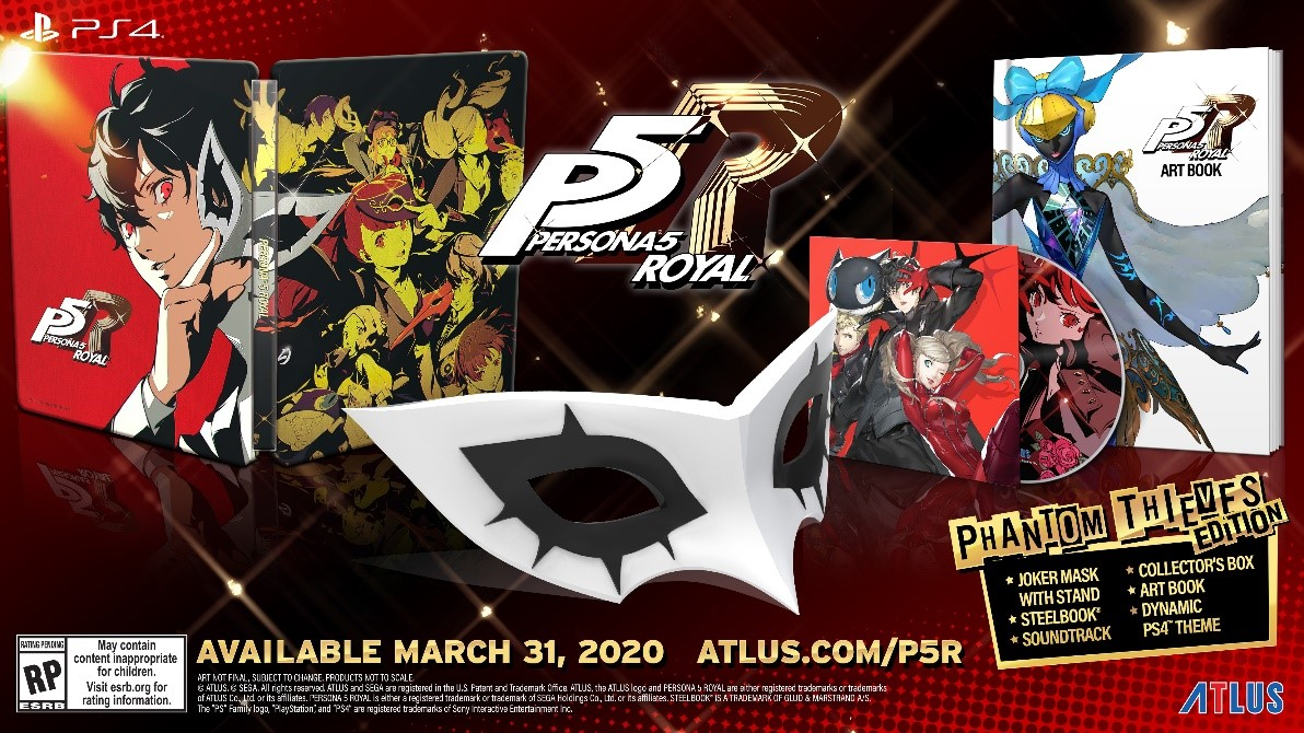 Persona 5 Royal launches March 31, 2020 in the west