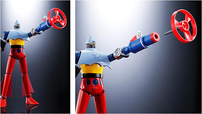 秘密兵器參戰!超合金魂 GX-XX01《無敵鐵金剛》D.C.系列對應「XX計畫 超兵器套組」(D.C.シリーズ対応 XX計画ひみつ超兵器セット01)