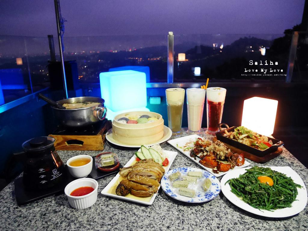 台北貓空貓懶MAOLAN景觀茶屋必吃美食夜景人氣餐廳推薦下午茶晚餐食記