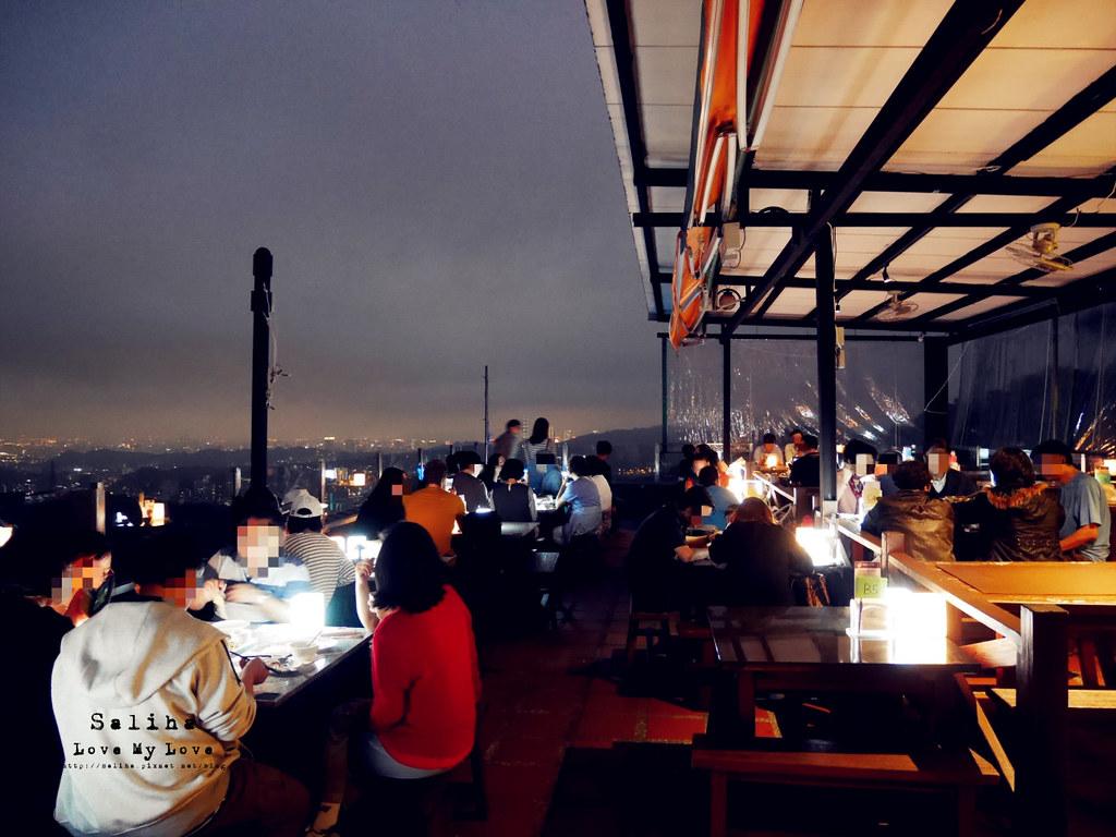 台北看夜景景觀餐廳推薦貓空貓懶MAOLAN咖啡廳下午茶熱炒約會情人節 (1)