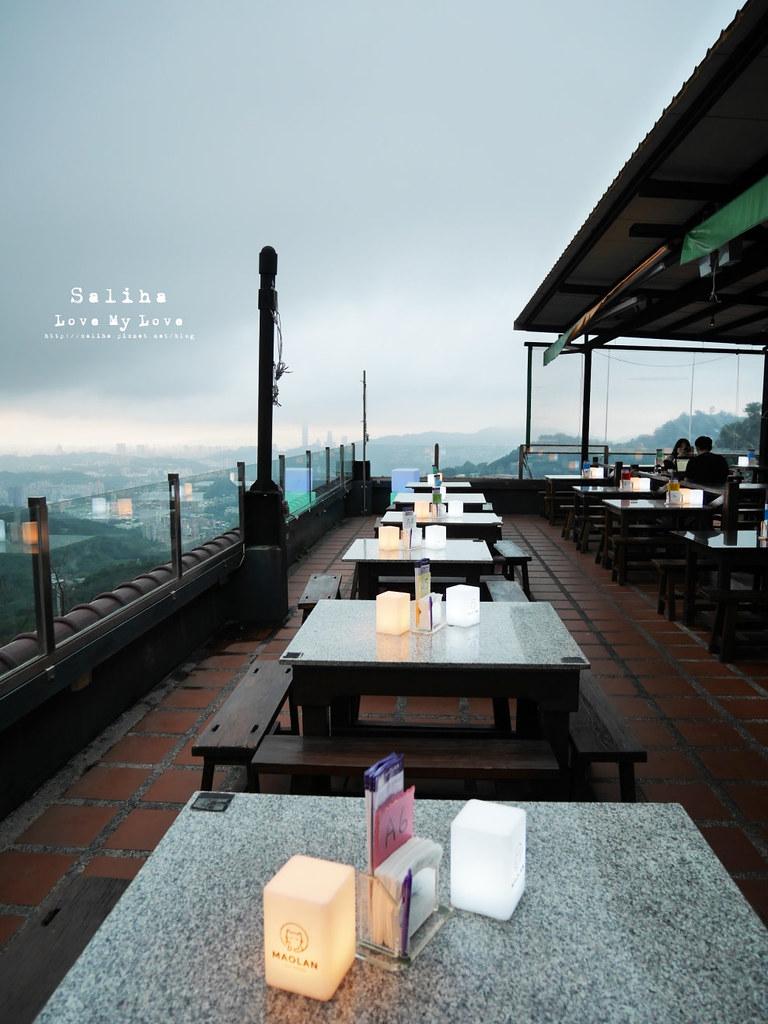 台北木柵指南路貓空貓懶MAOLAN景觀餐廳夜景咖啡下午茶好吃餐點 (2)