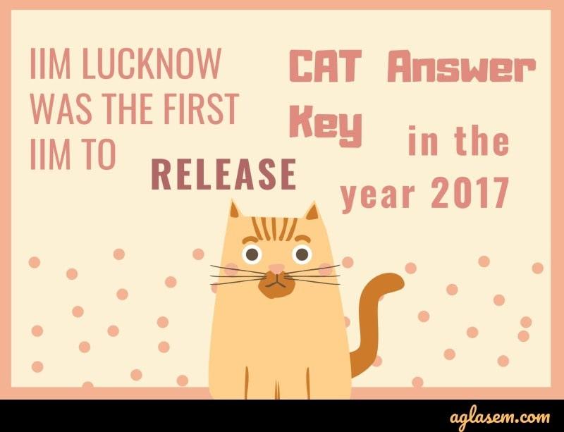 CAT 2019 answer key