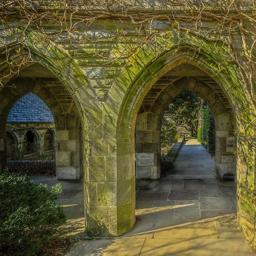 archways and walkways
