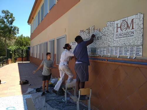 Mosaico de azulejos - 14