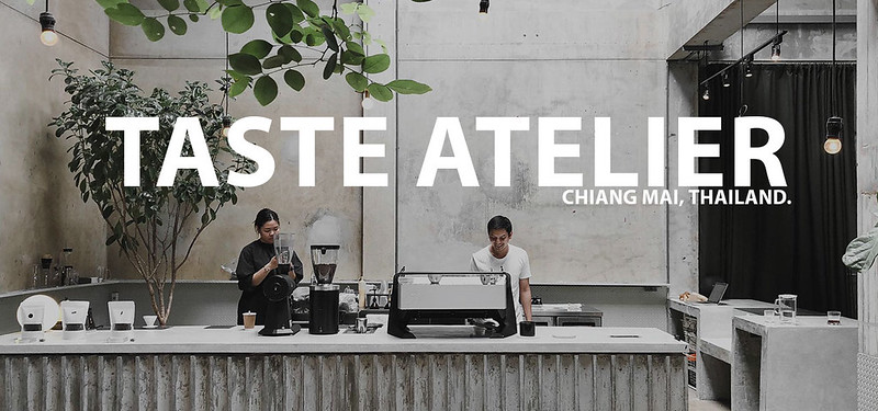 Taste Cafe Atelier (Weave Artisan Society), Chiang Mai.