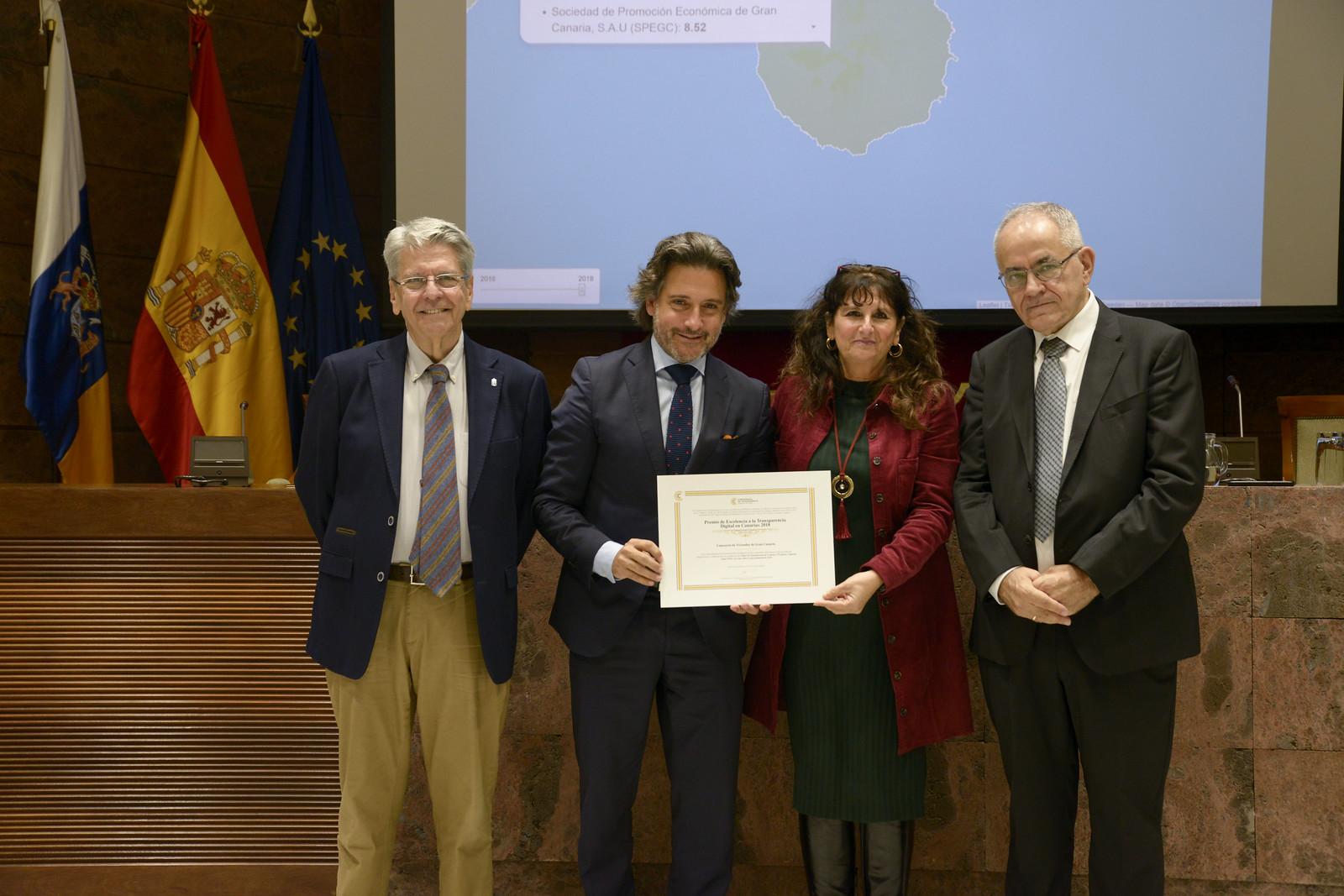 Primeras Jornadas Canarias de Transparencia Digital (27/11/2019)
