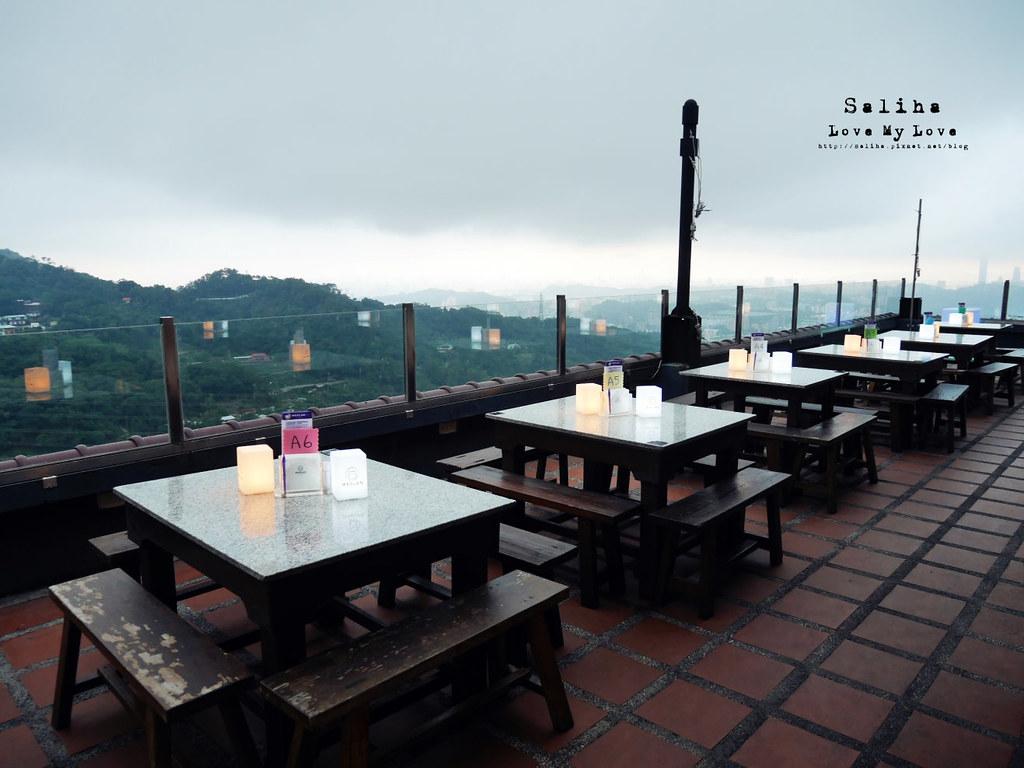 台北木柵指南路貓空貓懶MAOLAN景觀餐廳夜景咖啡下午茶好吃餐點 (4)