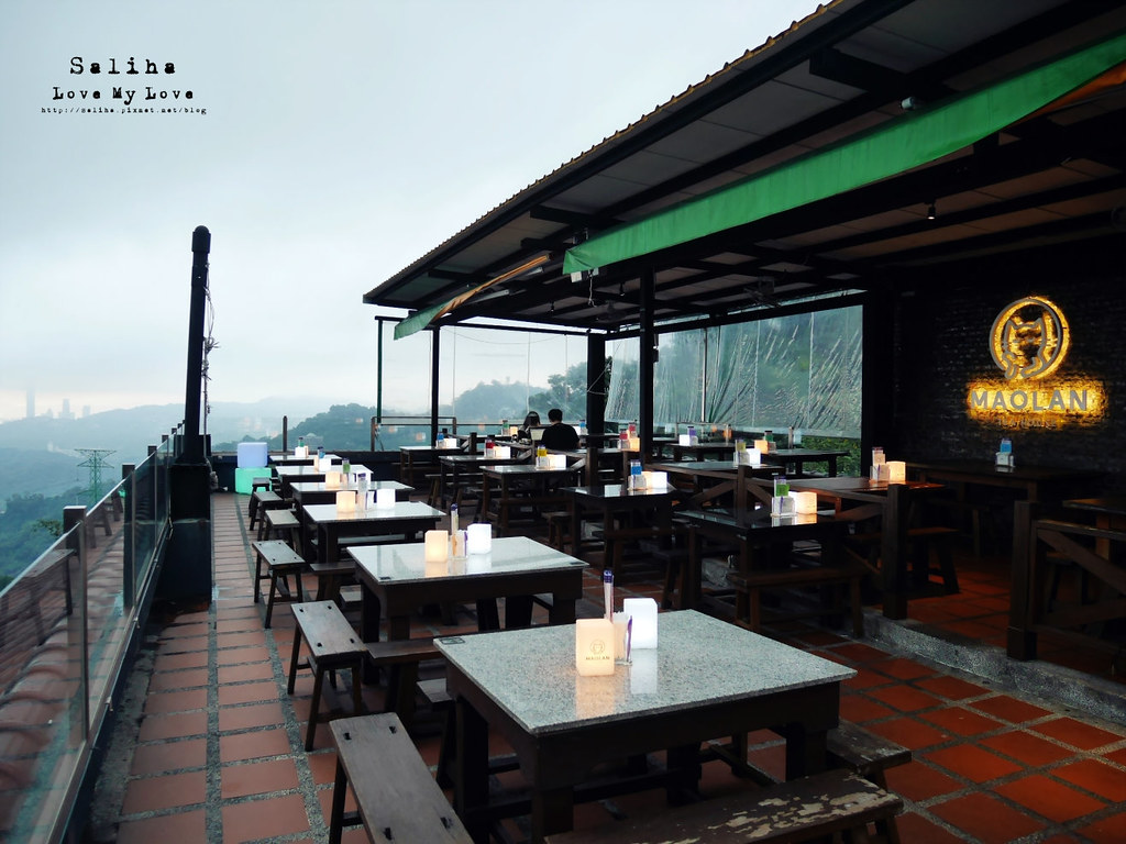 台北木柵指南路貓空貓懶MAOLAN景觀餐廳夜景咖啡下午茶好吃餐點 (3)