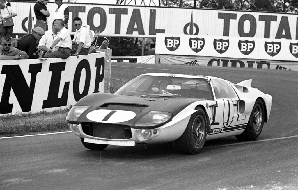 Ford GT 40 Mk II, chassis #GT107,