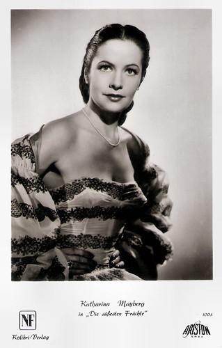 Katharina Mayberg in Die süßesten Früchte (1954)