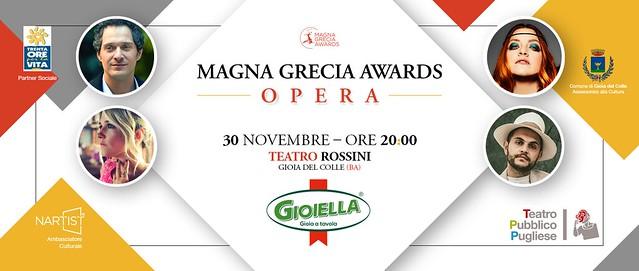 magna grecia Awards opera