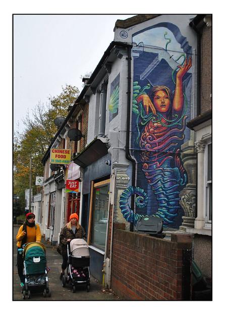 LONDON STREET ART by WD.