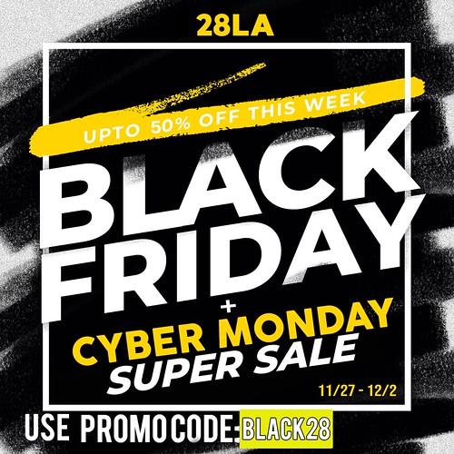 28LA X BLACK FRIDAY SALE!