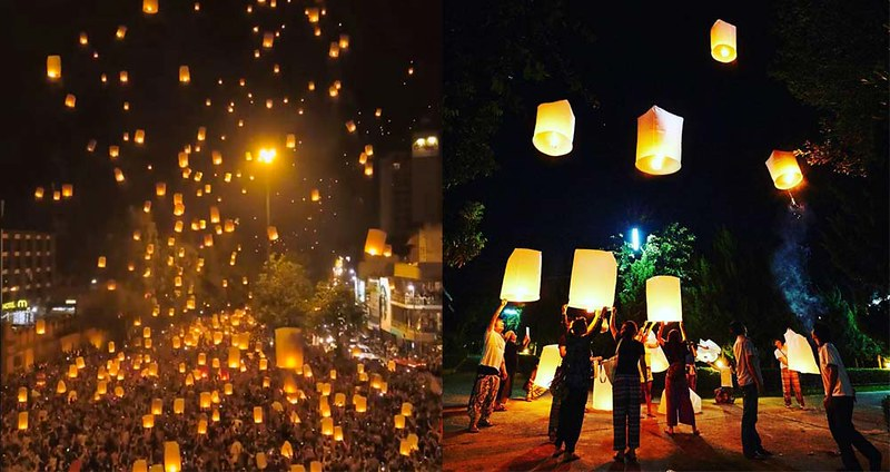 7 FREE Places To Go In Chiang Mai For 2019 Yee Peng (Loy Krathong) Festivals