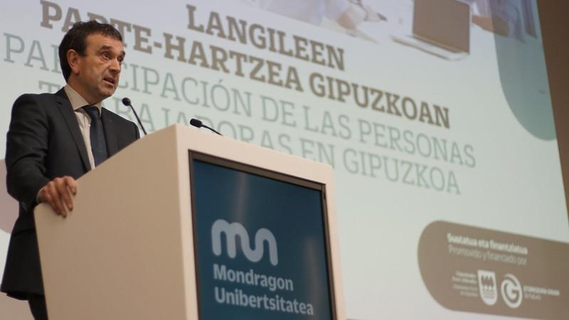 Mondragon Unibertsitatea-Diputación