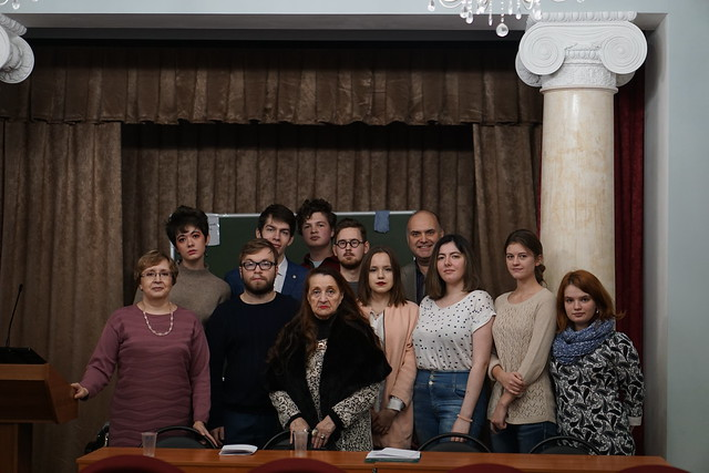 Ноя 16 2019 - 00:26 - «Путь интеллектуала в науке и творчестве»  Фото Елизаветы Стратоновой и Дарьи Грушевской