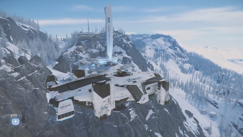 Star Citizen - Planète de glace