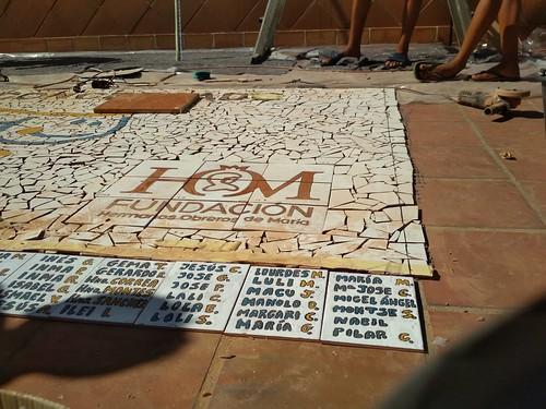 Mosaico de azulejos - 09
