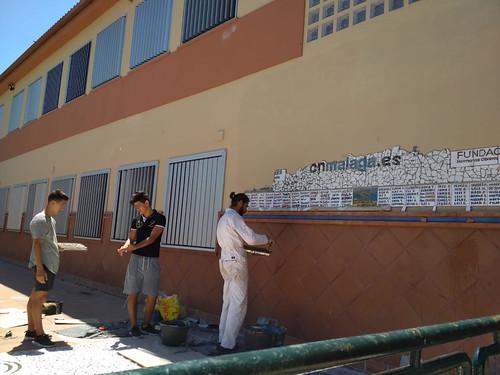 Mosaico de azulejos - 13
