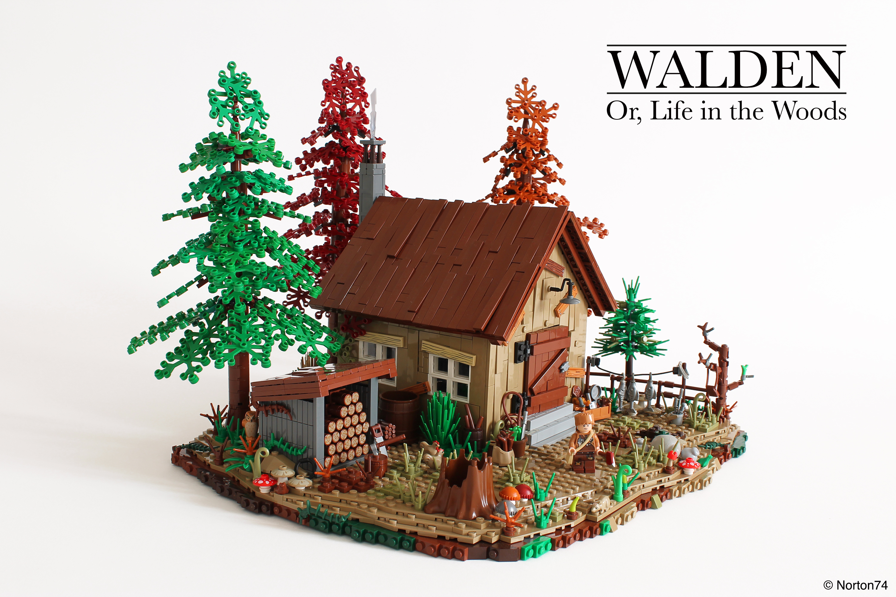Walden, or, Life in the Wood