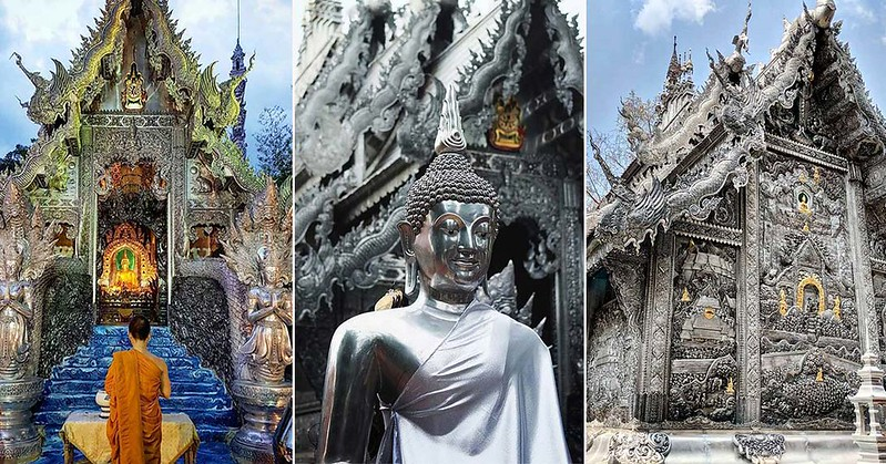 Wat Sri Suphan – The Breathtaking Chiang Mai Silver Temple