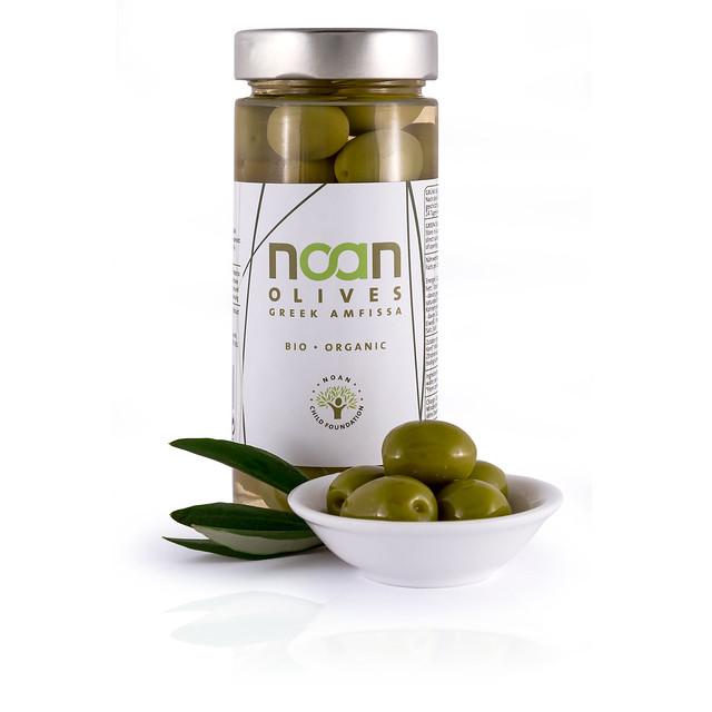Noan grüne Oliven Amfissa