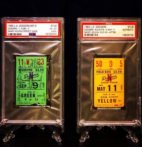 Koufax No Hitter & Perfect Game
