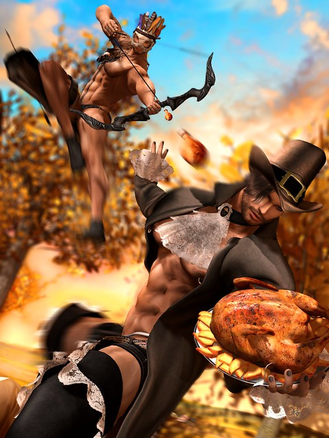 """FOOD FIGHT: A #TeamCP Thanksgiving"" (Part 1)"