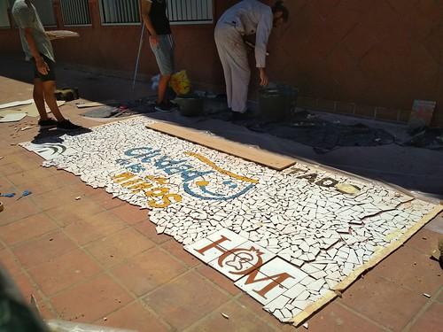 Mosaico de azulejos - 11
