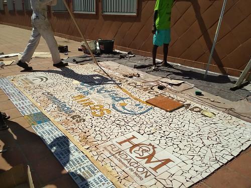 Mosaico de azulejos - 10