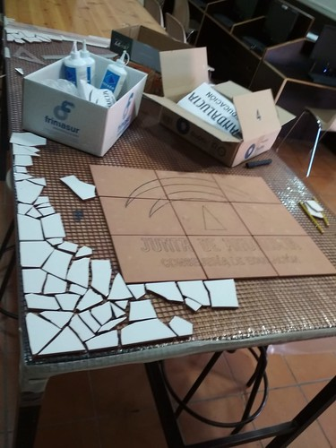 Mosaico de azulejos - 02