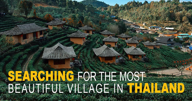 Ban Rak Thai (Mae Aw) – Beautiful Tranquil Village in Mae Hong Son, Northern Thailand