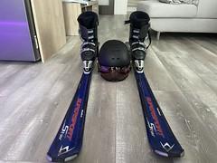 Lyže Volkl 170 cm + helma + boty 44 - titulní fotka