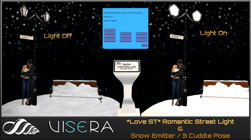 *Love ST* Romantic Street Light&Snow Emitter (WINTER EDITION)