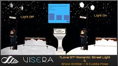 *Love ST* Romantic Street Light&Snow Emitter (WINTER EDITION)