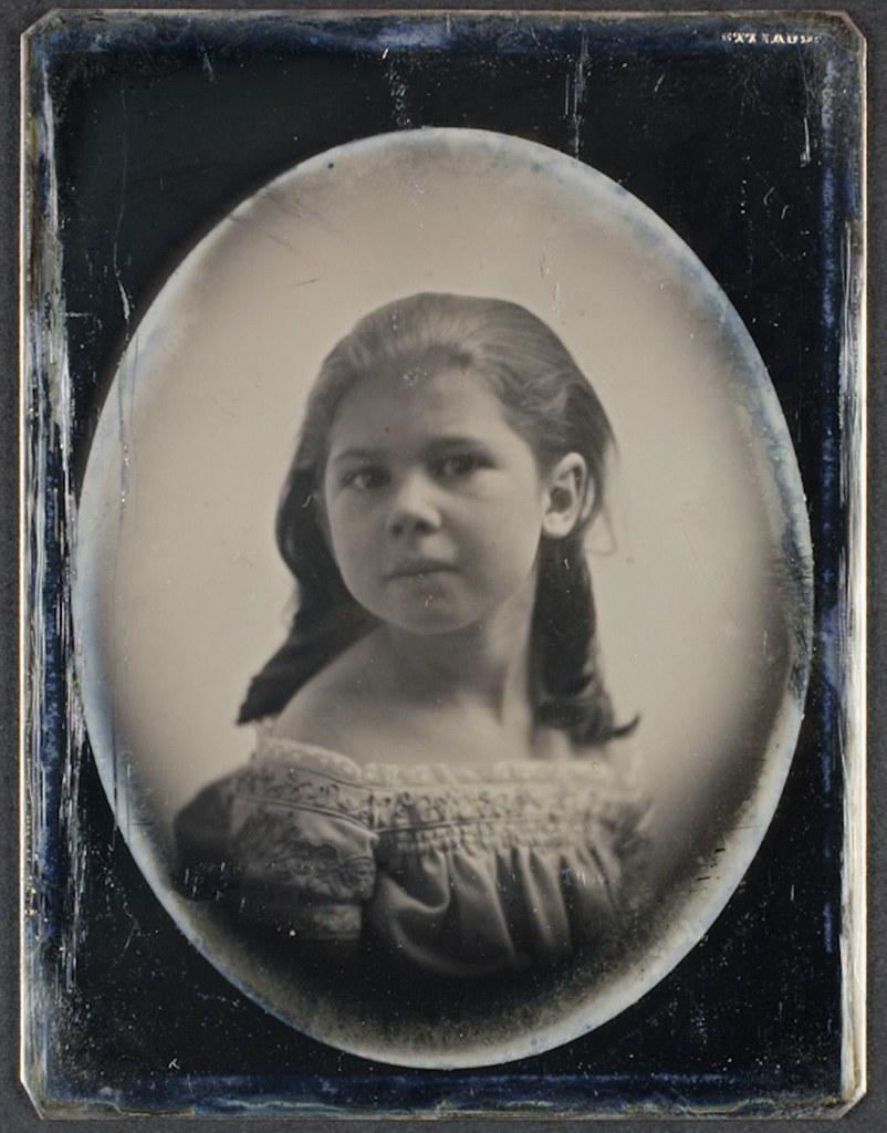 1850. Девочка. США