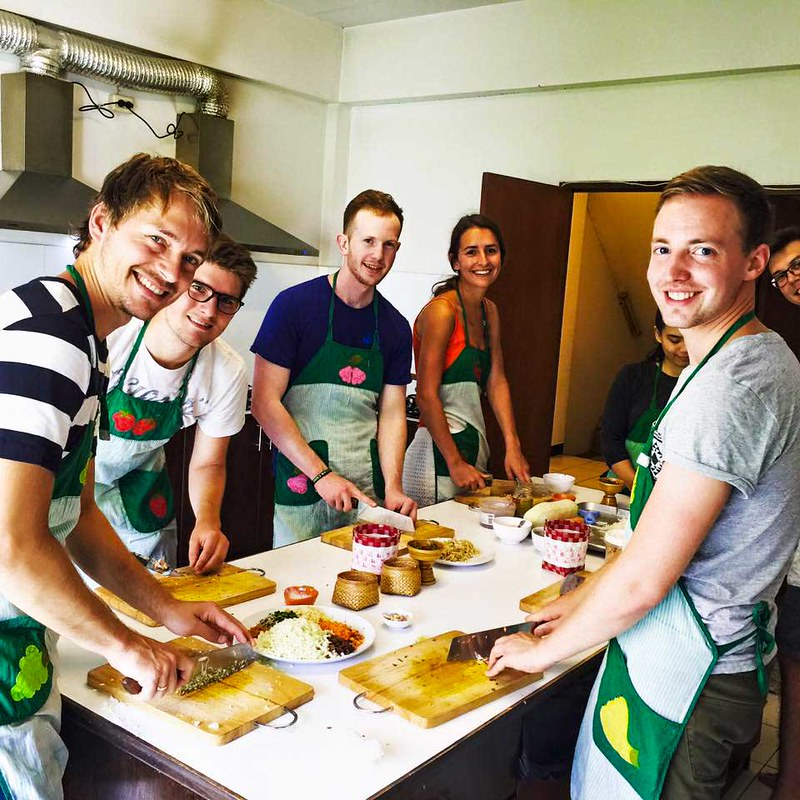 Basil Cookery School (Chiang Mai, Thailand)