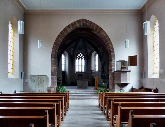 La Petite-Pierre - Église simultanée Notre-Dame