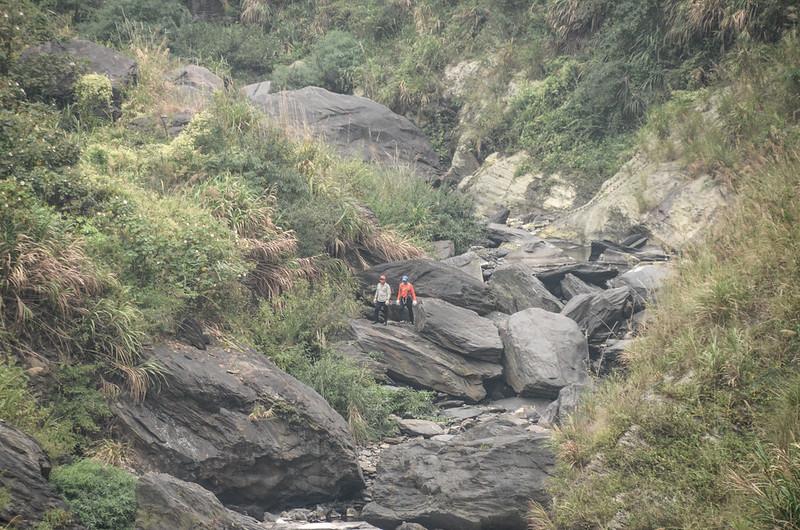 俯瞰北隘寮溪支流卡地給洋溪河床 (2)