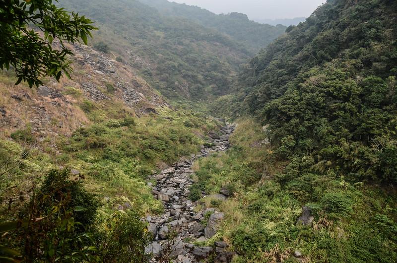 俯瞰北隘寮溪支流卡地給洋溪河床 (1)